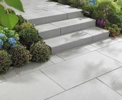 Außentreppe, selbst, bauen, Garten, Terrasse, Foto: Kann