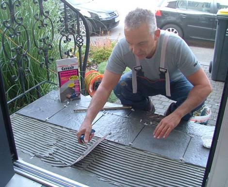 Außentreppen, sanieren, Treppensanierung Foto: Ceresit/Henkel