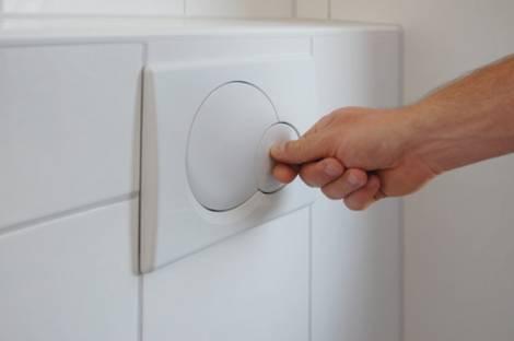 Wasserverbrauch beim Spülen der Toilette. Foto: leuchtturm2013/fotolia.com