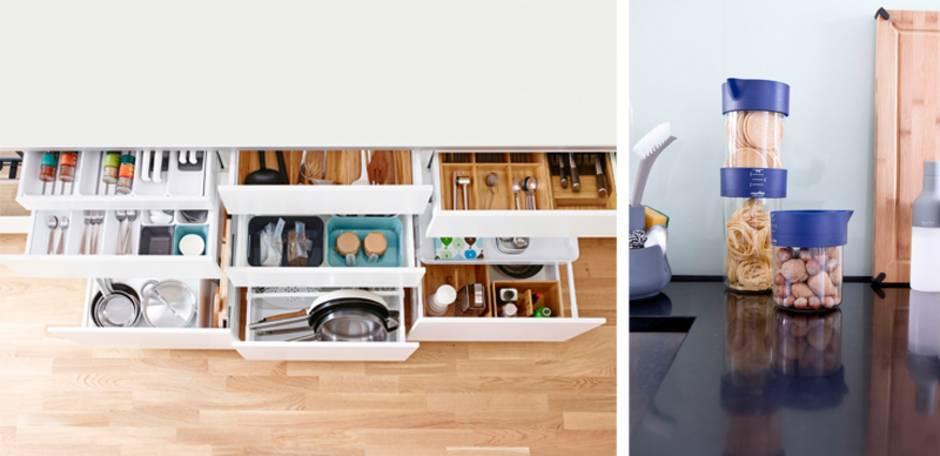 Küche verschönern, Schublade, Aufbewahrung, Foto: Inter IKEA Systems B.V. / Royal VKB