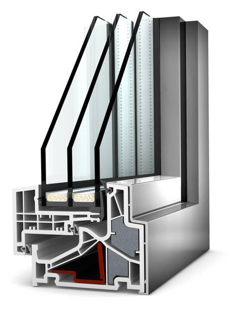 Isolierglas, Isolierverglasung, Wärmeschutzfenster, Foto: epr/Internorm