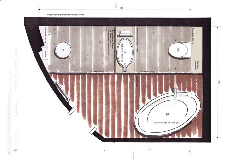 Dachausbau, Dachumbau, Badezimmer, Bad, Dachbad, Dachschrägenbad, Dachschräge, Dusche, WC, Foto: Hans Meirandres GmbH / meirandres.de