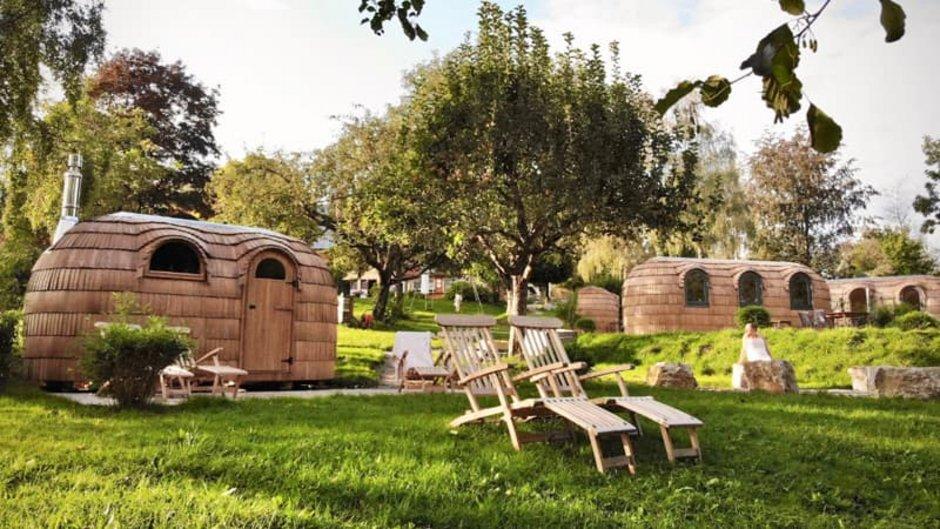 mobiles Haus, Siedlungen mit mehreren Igluhütten, Foto: www.iglucamping.com