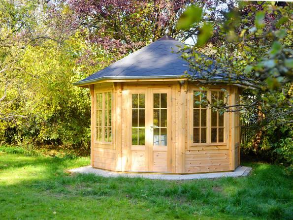 Gartenhaus Baugenehmigung Bauweisen Material Bauen De