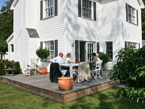 Amerikanische Häuser, Terrasse, Deck, Foto: The White House