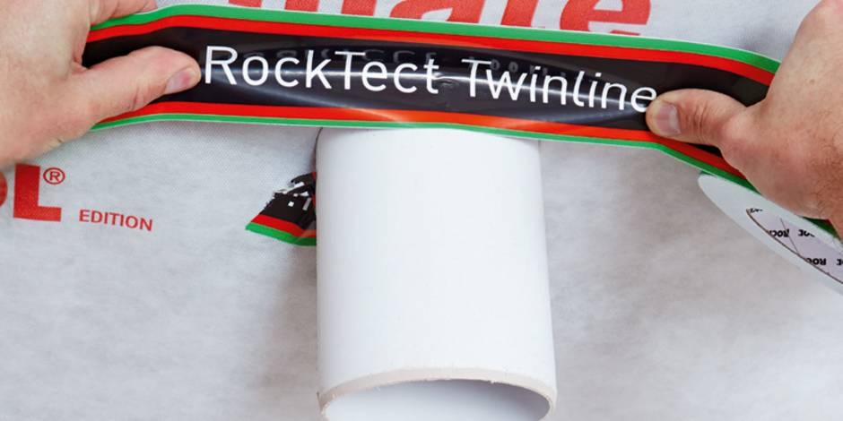 Dampfsperre, Abdichtung Durchbruch, Foto: DEUTSCHE ROCKWOOL Mineralwoll GmbH & Co. OHG