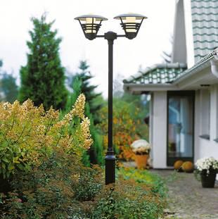 Außenbeleuchtung; Mastleuchte; Foto: Lampenwelt.de