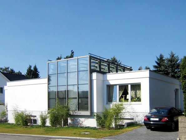 Umbau, Erweiterung, Wintergarten, Foto: BHW / Gauselmann Architekten