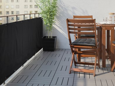 Sichtschutz, Sichtschutz auf dem Balkon, Balkonbespannung, Foto: Inter IKEA Systems B.V.