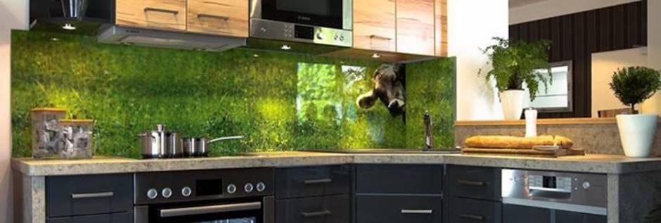 Küche verschönern, Fliesenspiegel, Spritzschutz, Foto farbnische.de