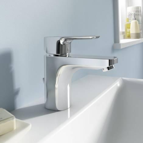 Bad renovieren, Badrenovierung, Badsanierung, Badezimmer modernisieren, Armatur, Einhebelmischer, Foto: Ideal Standard
