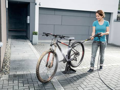 Hochdruckreiniger, Fahrrad