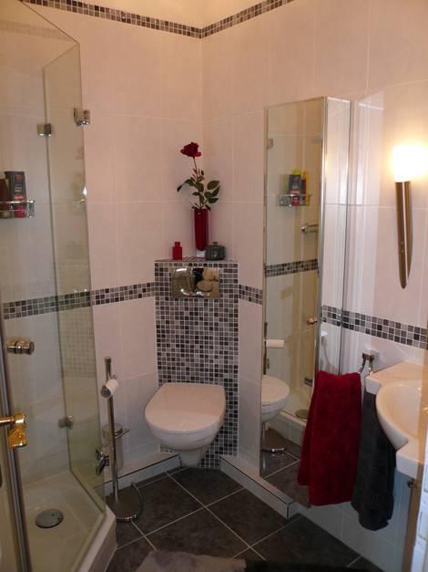 kleine Bäder, Vorwandinstallation, WC, Foto: Bäder Seelig