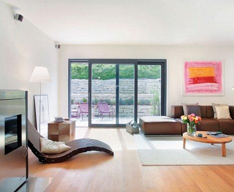 Schiebetüren, Schiebefenster, Foto: Schwörer Haus