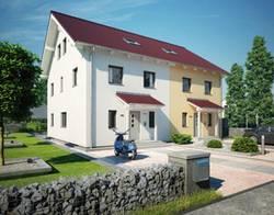 Doppelhaus, DHH Foto: Hanse-Haus