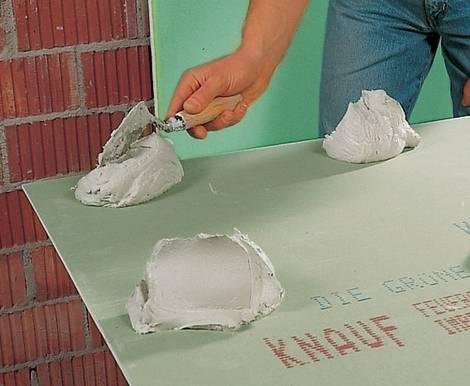 Gipskartonplatten, Foto: Knauf Bauprodukte GmbH & Co. KG