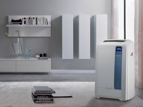 Klimaanlagen, Wohnung mit mobilem Klimageräte, Foto: De'Longhi