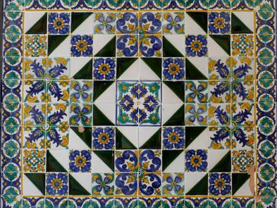 Fliesen, Muster aus Keramikfliesen, Foto: anela47 / fotolia.de