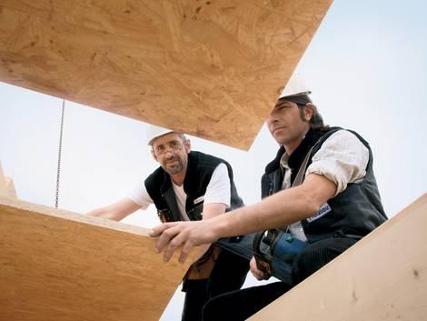 OSB-Platten, Holzwerkstoffplatten, Dach, Foto: FRITZ EGGER GmbH & Co. KG