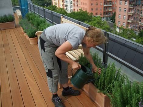 kleiner balkon, nele krenzlin, Foto: balkonsaison.de