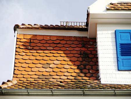 Dcaheindeckung, Biberschwanzziegel, Foto: Gnther / fotolia.de