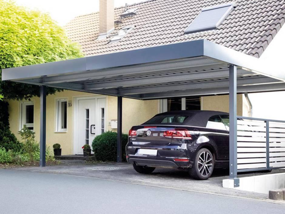 Große Garage Bauen doppelcarport die preiswerte garagen alternative bauen de