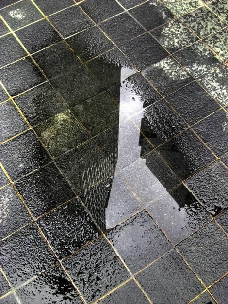Dachterrasse, Wasserablauf, Pfütze, Gefälle, Foto: XtravaganT - Fotolia.com