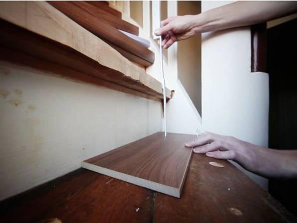 alte stufen renovieren laminat auf treppen verlegen. Black Bedroom Furniture Sets. Home Design Ideas