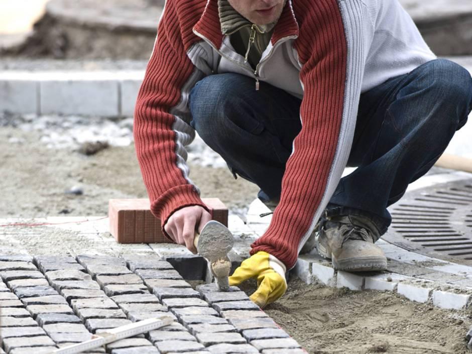 Terrasse Pflastern Anleitung Fur Heimwerker Bauen De