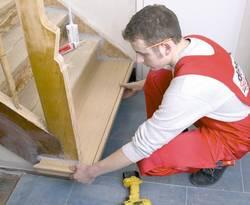 Treppensanierung, Renovierung, Stufen, alte, Foto: dress-Treppen Renovierungssysteme GmbH