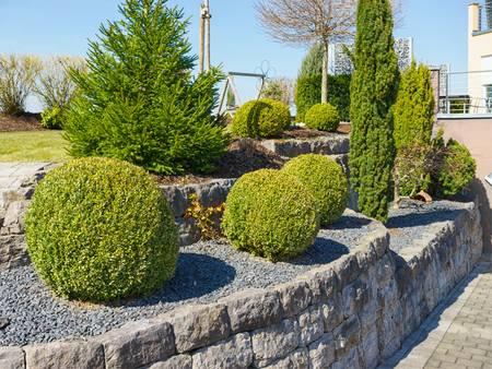 Außenanlagen, Garten, Pflanzen, Pflaster, Foto: ThomBal / fotolia.de