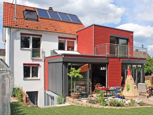 Umbau, Hausanbau, Anbau, Foto: BHW / KitzlingerHaus