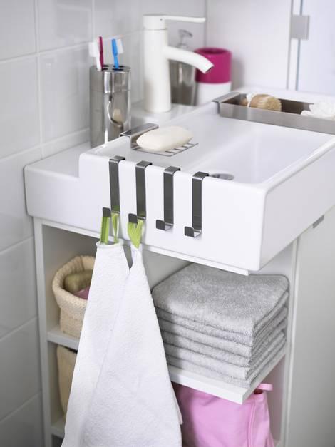 kleine Bäder, Stauraum, Waschbecken, Möbelwaschtisch, Foto: Inter IKEA Systems B.V. 2015
