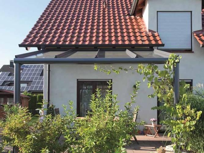 Terrasse, Überdachung, heroal, Foto: heroal