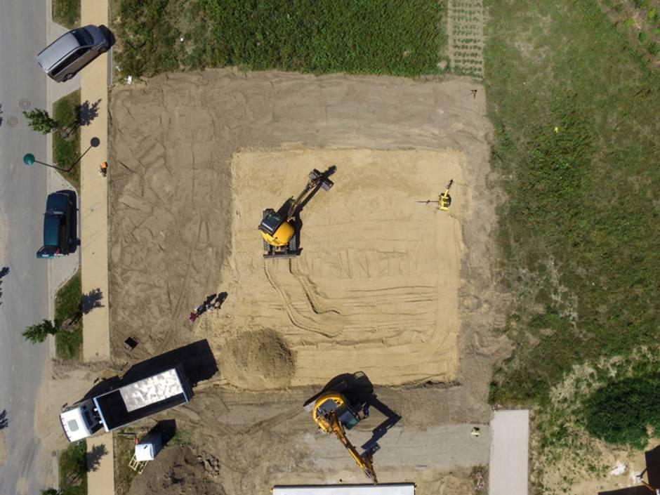 Baustelleneinrichtung, Baugrund, Foto: iStock/Bestgreenscreen