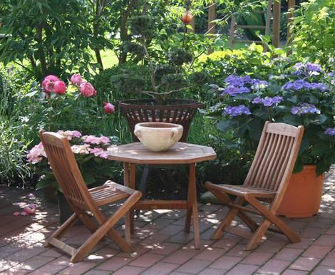 terrassengestaltung ideen f r den garten. Black Bedroom Furniture Sets. Home Design Ideas
