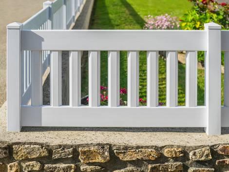 Zaun, Zaunmaterial, Kunststoff, Foto: Fotoschlick/fotolia.com