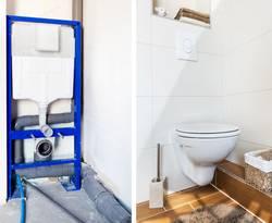 Vorwandinstallation, WC, Toilette Foto: Chlorophylle/Fotolia.com