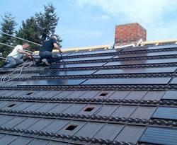 Solardach, Solar, Dach, Photovoltaik, Solaranlage, Foto: Dachziegelwerke Nelskamp