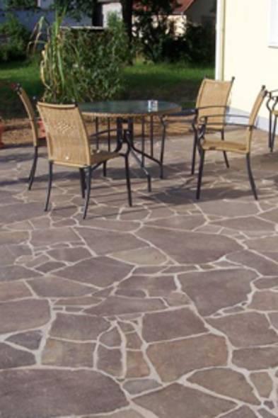 Terrassenplatten verlegen, diy, Naturstein, Foto: sk-natursteine.de