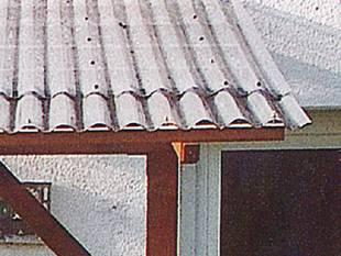 Terrassenüberdachung, diy, Bausatz, Gartenüberdachung, PVC-Profilplatten. Foto: Gutta Werke