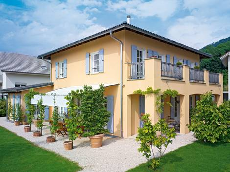 mediterrane Häuser, Provence, Foto: WeberHaus