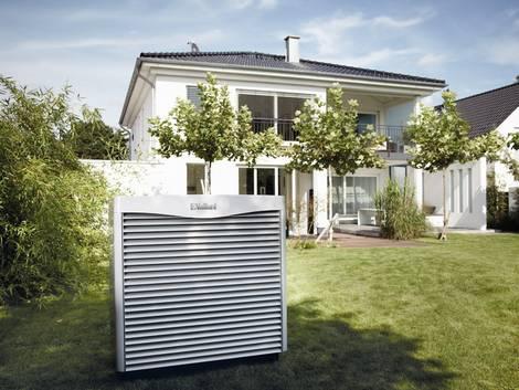 welche Wärmepumpe, Luftwärmepumpe, Außengerät, Foto: Vaillant