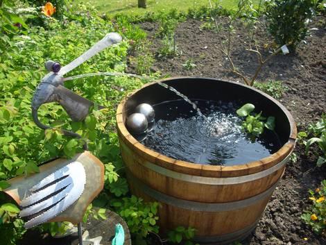 Mini-Teich, Wasserspiel, Foto: www.water-plant.de