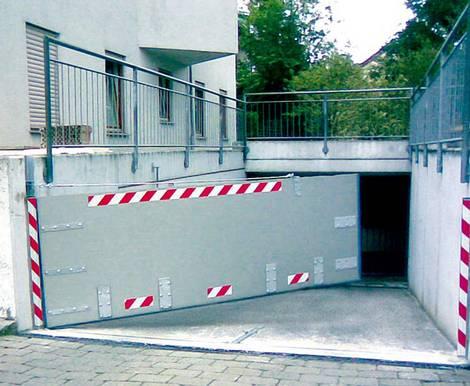 Hochwasserschutz fürs Eigenheim Foto: WHS-Hochwasserschutzsysteme
