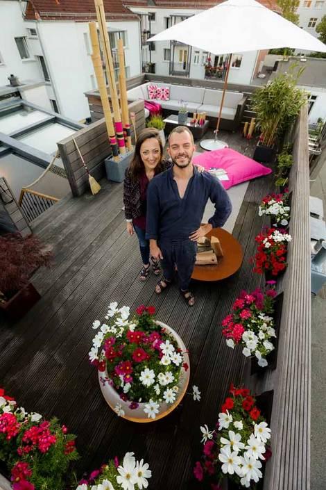 Christina Hochhausen, Arne Niehaus, Balkongestalter, Foto: balkongestalter.de