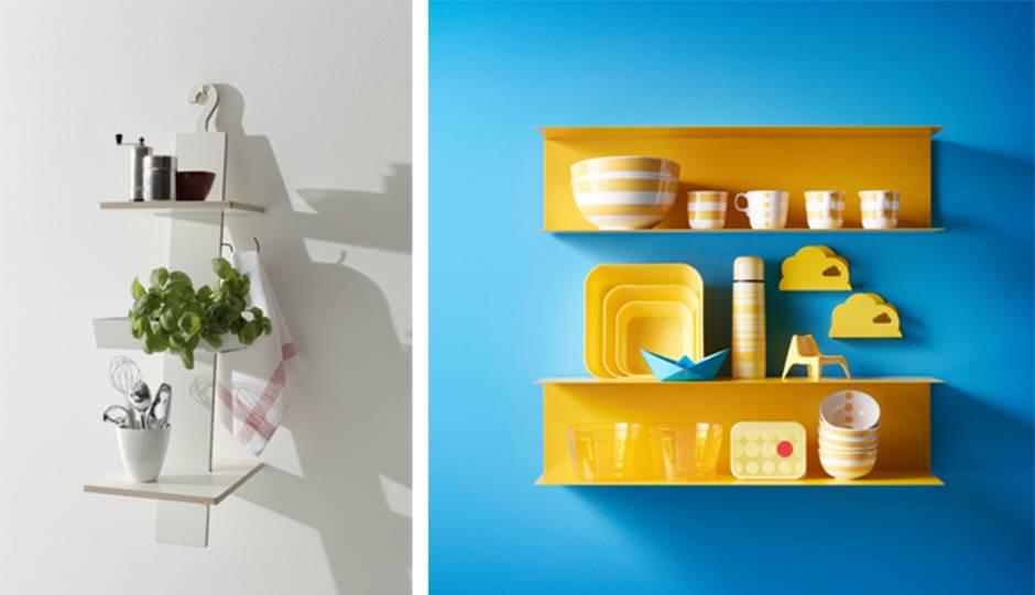 Küche Verschönern, Küchenregale, Foto: Müller Möbelwerkstätten / Inter IKEA  Systems B.V.