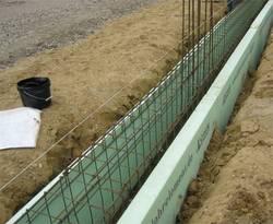 Streifenfundament, Fundament, Frostschutz, Foto: LohrElement E. Schneider GmbH