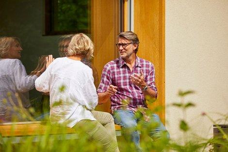 Unsere Partnerbetriebe verstehen sich als Berater, nicht als Verkäufer. Foto: Sto