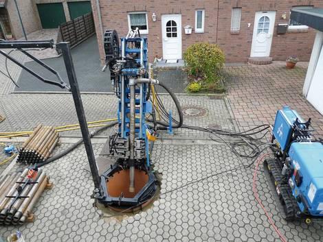 Geothermie, Erdwärmesonde, Bohrungen, Foto:Bundesverband Geothermie / Tractor-Technik